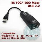 SCHEDA DI RETE ADATTATORE LAN USB 3.0 ETHERNET RJ45 CAVO NETWORKING INTERNET
