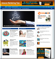 Amazon Marketing  Turnkey Website Business earn from affiliate - adsense