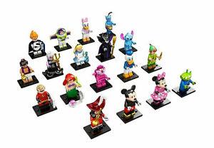 Lego 71012 Disney Serie 1 Minifiguren Figuren aussuchen Donald Micky Hook NEU