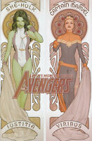 AVENGERS #1 (JOHN TYLER CHRISTOPHER EXCLUSIVE VARIANT) COMIC BOOK ~ Marvel