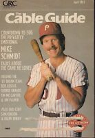 The Cable Guide Magazine April 1987 Mike Schmidt 072217nonjhe