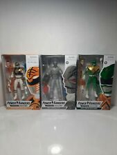 Power Rangers Lightning Collection Mighty Morphin Green & White Ranger & Z Putty
