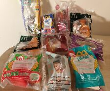 McDonalds Burger King Happy Meal Toy Lot of 10 Barbie Chicken Little and More