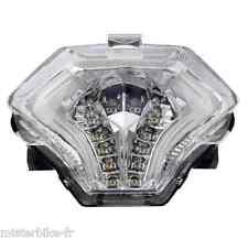 Feu arrière à LED E11 avec clignotants Intégrés Ermax Yamaha MT07  MT 07 14-16