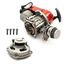 Mini Moto Quad Bike 49cc 2 Stroke Complete Engine Red Pullstart Minimoto ATV