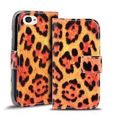 Phone Case For Apple IPHONE 4 4S Case PU Leather Motif Case Bumper
