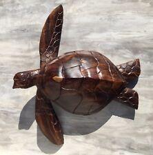 Large Ironwood Sea Turtle Carving