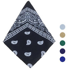 Unsiex Fashion Men Women Outdoor Bandana Scarf Square Cotton Head Scarf Headwear