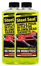 Steel Seal - Permanent Head Gasket Repair for 8 cylinder cars - 32 FL. OZ