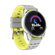 Blood Pressure Bluetooth Smart Watch Fitness Tracker For Android Samsung iPhone