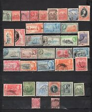 Barbados - Lot Of Early Used Stamps {BAR16}