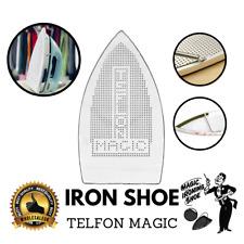 Iron Cover Teflon Shoe Ironing Aid Board Protect Fabrics Silk Cloth Easy Heat