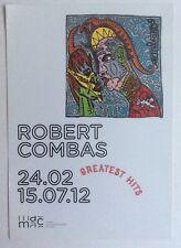 ROBERT COMBAS -   Carton d invitation - 2012