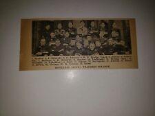 Moorhead Minnesota Teachers College 1922 Football Team Picture RARE!