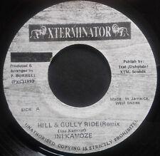 1 x 7'' Ini Kamoze - Hill & Gully Ride Rmx (XTERMINATOR)