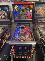 1986 WILLIAMS PINBOT PINBALL MACHINE LEDS WORKS GREAT NICE EXAMPLE