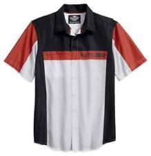 Camisas casuales de hombre de manga corta Harley-Davidson