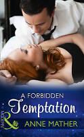 Very Good Mather, Anne, A Forbidden Temptation (Modern), Paperback, Book