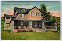 Vintage Postcard Maude Adams House Onteora Park Tannersville NY Catskill Mtns