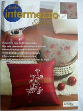 Anchor intermezzo edition Stickvorlage Persönliche Note für Ihre Heimdeko