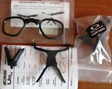 Ess Oakley Urx Prescription Insert Ballistic Safety Glasses 740-0444 - New