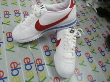 NIKE CLASSIC CORTEZ LEATHER WOMEN'S SHOES  Black&wh /Red white blue pick a size