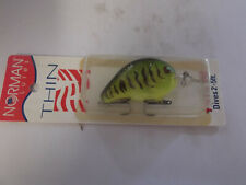 Older USA Made Bill Norman Deep Tiny N,6 Footer.White Chartreuse,Discontinued