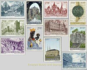 EBS Luxembourg 1963 - Melusina + Millennium of Luxembourg - Michel 667-677 MNH**