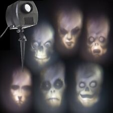 Outdoor Animated Skulls Projection Lightshow