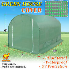 Strong Camel 10'X7'X6'H Greenhouse Replacement Green House Cover (Only)