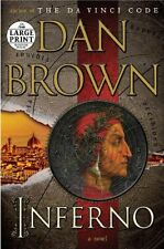 Inferno: A Novel (Random House Large Print) by Dan Brown