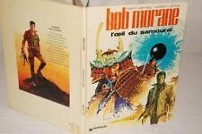 BOB MORANE L'OEIL DU SAMOURAI VERNES VANCE 1973 BD