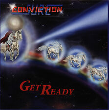 Sure Conviction - Get Ready CD 1995 Christian / White Metal *NEW*