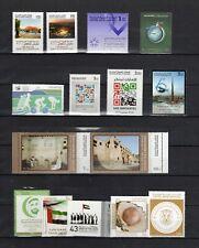 UNITED ARAB EMIRATES—13 complete sets, MNH/VF—Scott 988//1159