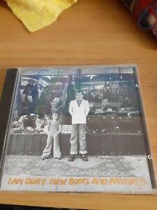IAN DURY NEW BOOTS & PANTIES RARE STIFF RECORDS CD NEAR MINT SPEEDY UK POST