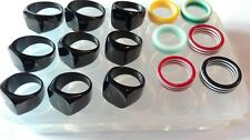Huge Clear silicone ring mold,15pc, See description.