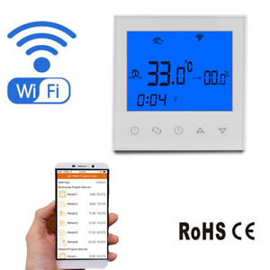 Wifi Thermostat Underfloor Heating Thermostats Smart Heating Controller Boiler