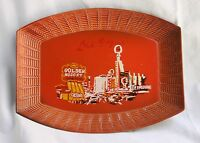 Vintage Las Vegas Plastic Plate Downtown Fremont Street Hotels Casinos Souvenir