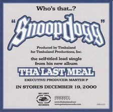 Snoop Dogg - CD Single Promo