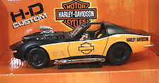 MAISTO 32193 FORD/Harley 1970 Corvette METAL Scala 1:24