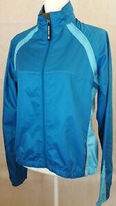 Novara Cycling Jacket vest Full Zip Womens large blue