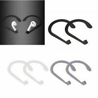 1 Pair Anti-lost Earhook Holder Ear Hook for Apple AirPods Strap Silicone Sports