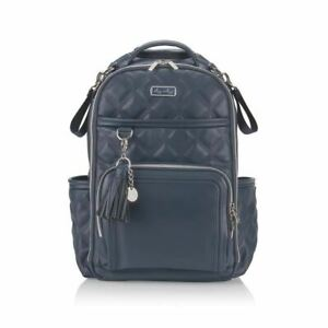 Itzy Ritzy Boss Plus™ Backpack Diaper Bag w Laptop Pocket - Moonstone Blue