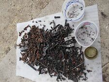 Farmall 656 504 M 560 H Tractor IH box of misc bolts nuts parts pieces springs &