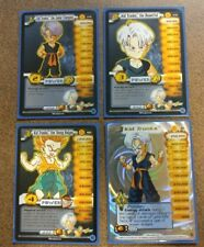 Dragon Ball Z Kid Trunks Personality Set World Games Saga Limited Rare DBZ CCG