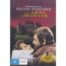 The Lion In Winter DVD New and Sealed Australia All Regions