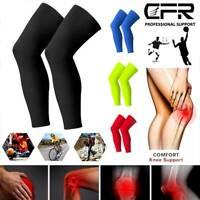 Compression Knee High Sleeve Support Leg Brace Socks Sport Running GYM Men Women