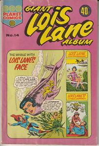 Australian Comic: Giant Lois Lane Album #14 Colour Comics 1976