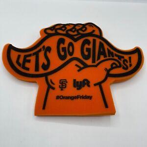 MLB San Fransisco Giants Lets Go Giants Mustache Foam Hand Finger