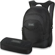 DAKINE SET Laptop Rucksack Schulrucksack PROM 25l + SCHOOL CASE Mäppchen Ranzen